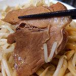 ラーメン ヤスオ - ヤス二郎・麺300g・ニンニクショウガ(850円)