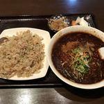 78362623 - 拉麺セット(炒飯ver.)1130円