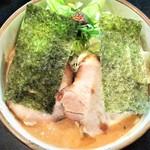 麺家 うえだ - 料理写真:特濃魚介豚骨らーめん+味玉
