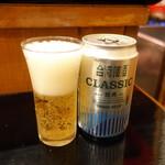 台湾佐記麺線&台湾バル888 - 台湾ビール(600円+税)