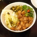 台湾佐記麺線&台湾バル888 - 魯肉飯S(300円+税)