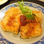 台湾佐記麺線&台湾バル888 - 大根餅大根仕込み八割二分(530円+税)