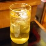 台湾佐記麺線&台湾バル888 - 水出し中国茶ハイ(580円+税)