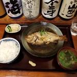 78363791 - 煮魚(のどくろ)のごはんセット