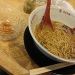 福島壱麺 - 師走そば-梅水晶増し