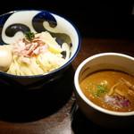 九十九里煮干つけ麺 志奈田 - 純濃つけ麺 +味玉¥100