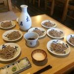 一理庵 そば義 - 出石蕎麦(2017,11)