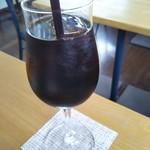 カフェ自休自足 - ランチドリンクのアイスコーヒー