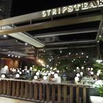 Stripsteak - 2017年の外観(テラス席)