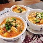 本格四川料理 三鼎 - 鱈の白子麻婆豆腐様