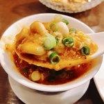 本格四川料理 三鼎 - 鱈の白子たっぷりで濃厚な味わい!