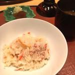 是しん - 蟹飯1