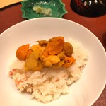 是しん - 蟹飯2(雲丹のせ)