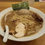 すずめ食堂 - 濃口中華そば(800円)