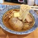 莢 - バターが絡み美味い♪ 麺の量食感グッド