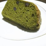 自家製天然コーボパンと焼き菓子 ぐらぱん - 抹茶シフォン