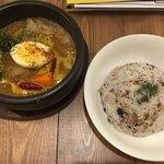 Spice&Sweets KAJU - 野菜とチキンのスープカレー①