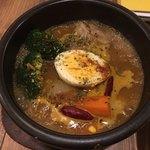 Spice&Sweets KAJU - 野菜とチキンのスープカレー②
