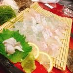 味の波止場 - これは山葵醬油でなくポン酢にもみじおろしで食べたい^^;