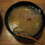 味暦あんべ - 蟹汁♪
