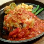 """ハンバーグ&ステーキ食堂 KURAUZO - """"イタリアンハンバーグ/200g"""""""