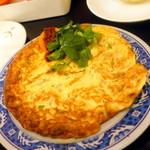 台湾佐記麺線&台湾バル888 - 台湾干し大根の玉子焼き(530円+税)