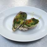 カフェ ラ・ボエム - 牡蠣の香草バター焼き