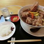 平沼 田中屋 - 『竜田カレーうどん』1,250円
