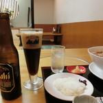平沼 田中屋 - 「黒ビール」500円