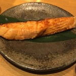 78380178 - 鮭ハラス焼き。