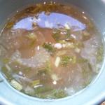 78380307 - スープ(ゲーンチュー)