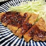 べろ助 - イベリコ豚の味噌かつ(日替り定食)