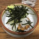 山城屋酒場 - いか納豆390円
