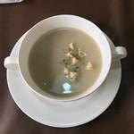 レストラン美咲亭 - 本日の、ごぼうスープ