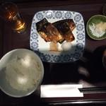78384934 - サバの桜干し膳1.000円(税込)