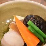 78387454 - 野菜の煮もの(Aセット定食)
