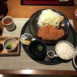 78387591 - 糸島豚ロース とんかつ膳 1,880円