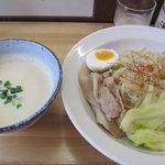 うぜん - 鶏塩ポタージュつけ麺