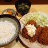 きっちん 浜家 - 料理写真:カキフライとヒレカツ