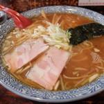 げっくりかっくりすいようび - 料理写真:中華そば大盛り(600円)