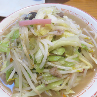 一鉄 - 料理写真:チャンポン650円。