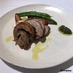 PRIMO - 仔羊のバラ肉のポルケッタ
