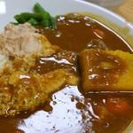 カフェ デ カリー - 8種類の野菜と骨付きチキンカレー 中辛