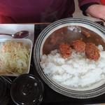 かき小屋 小江戸 - 牡蠣カレー(860円)