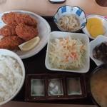 かき小屋 小江戸 - 定食(980円)