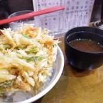 てんほう - かき揚げ丼 500円