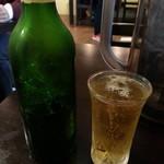麺屋 7.5Hz - ビール(ハートランド)2017.12.17
