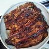 宮川うなぎ店 - 料理写真:私のうな丼の鰻は、1枚分が2枚重ね♪