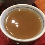 源氏 - 蕎麦湯割り