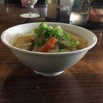 谷川製麺所 - 並盛り程度